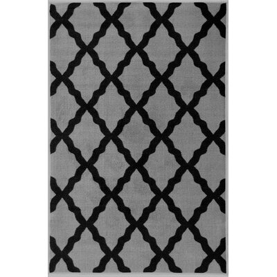 Glamour Dark Gray Area Rug Rug Size: 33 x 5