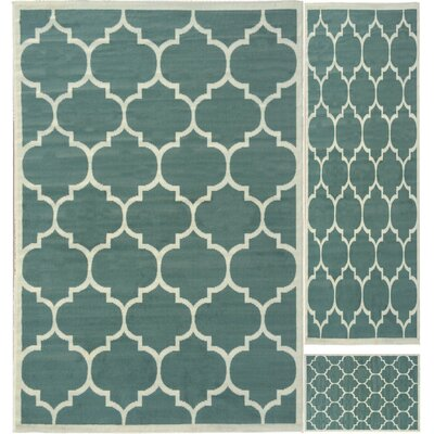 Paterson 3 Piece Area Rug Set in Sage Green