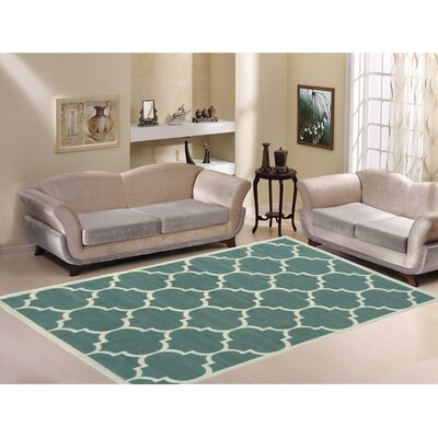 Paterson Sage Green Area Rug Rug Size: 5 x 7