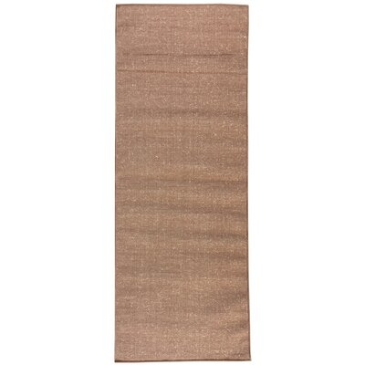 Jardin Brown Indoor/Outdoor Area Rug Rug Size: Runner 27 x 7