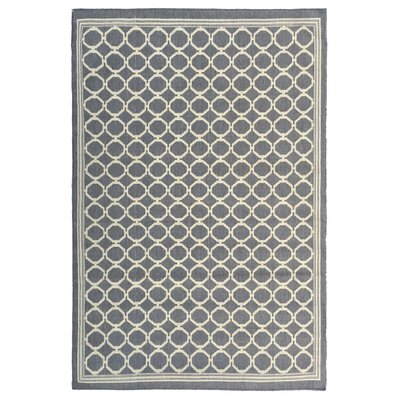 Chapman Mocha Indoor/Outdoor Area Rug Rug Size: 53 x 73