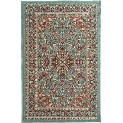 Mathew Sage Green/Aqua Blue Area Rug