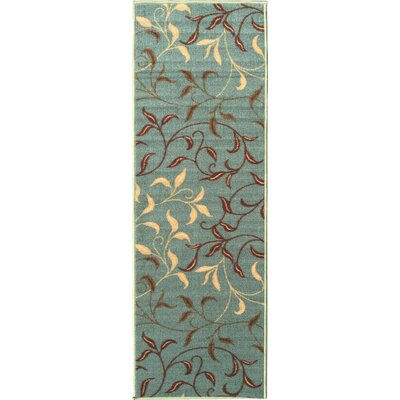 Galesburg Sage Green Area Rug Rug Size: 18 x 411
