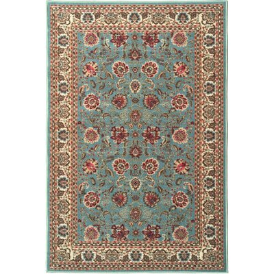 Ryan Sage Green Area Rug Rug Size: 5 x 66