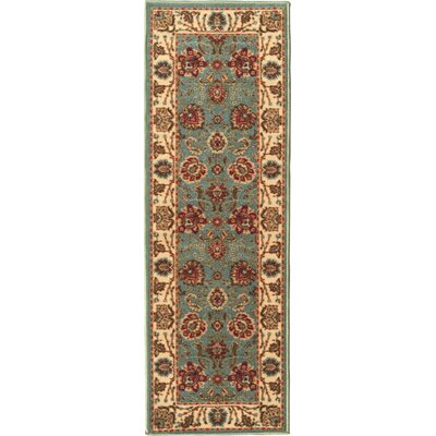 Ryan Sage Green Area Rug Rug Size: 1'8