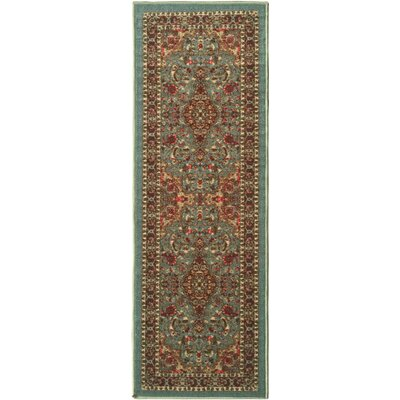 Ryan Sage Green Area Rug Rug Size: 18 x 411