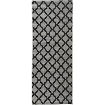 Glamour Dark Gray Area Rug Rug Size: 18 x 411
