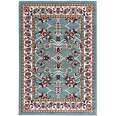 Paterson Blue Area Rug Rug Size: 5 x 7
