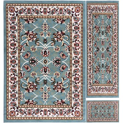Paterson Blue Area Rug