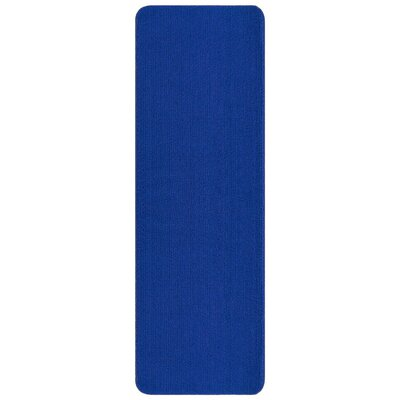 Bundinie Hill Bath Mat Rug Size: Runner 18 x 49, Color: Blue