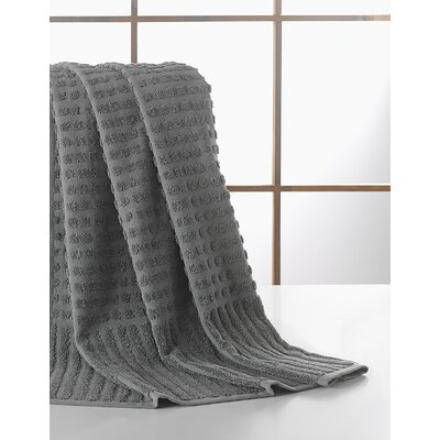 Yorkshire Piano Bath Towel Color: Gray