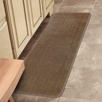 Softy Bath Mat Rug Size: Runner 21 x 6, Color: Camel