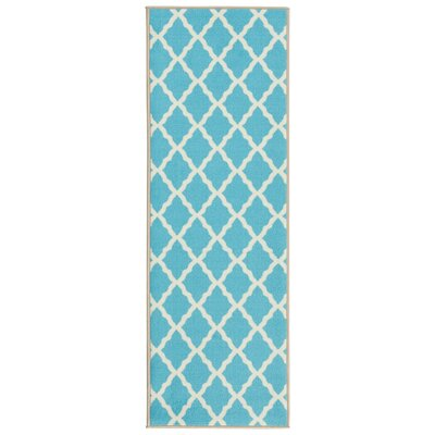 Staunton Blue Area Rug Rug Size: Rectangle 82 x 910