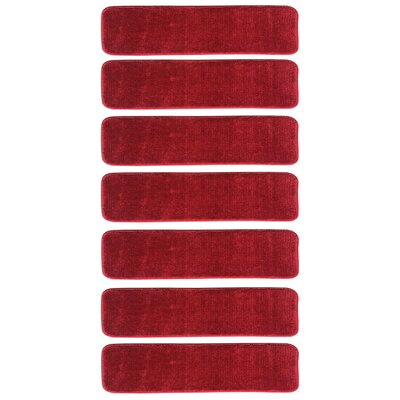 Clementine Stair Tread Color: Red