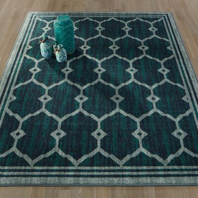 Authentic Green Area Rug Rug Size: 82 x 910