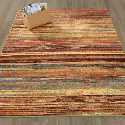 Authentic Area Rug Rug Size: 5 x 66