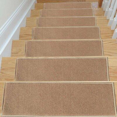 Brannan Dark Beige Stair Tread