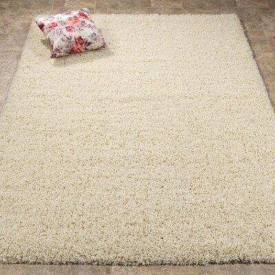 Ultimate Ivory Area Rug Rug Size: Rectangle 53 x 7