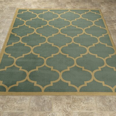 Clifton Sage Green Area Rug Rug Size: 710 x 910