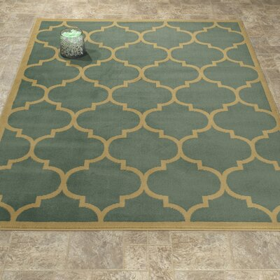 Standridge Sage Green Area Rug Rug Size: Rectangle 82 x 910