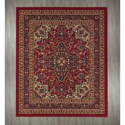 Ryan Red Area Rug Rug Size: 82 x 910