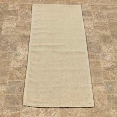 Taelyn Nature Cotton Beige Area Rug Rug Size: Runner 18 x 411