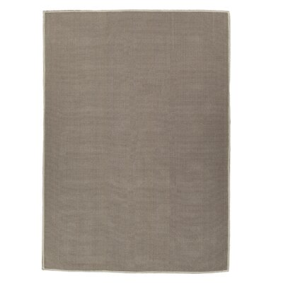 Taelyn Nature Cotton Solid Light Brown Area Rug Rug Size: 4 8 x 6 7