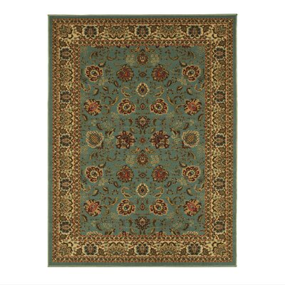 Ryan Sage Green Area Rug Rug Size: 28 x 41