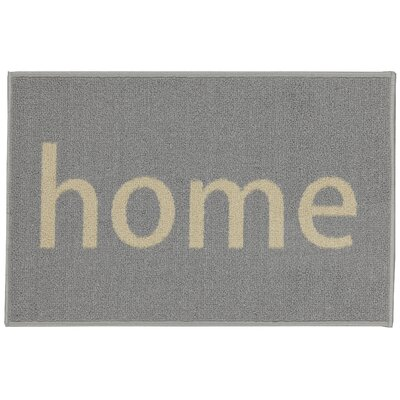 Charboneau Rectangular Home Doormat Color: Gray/Beige