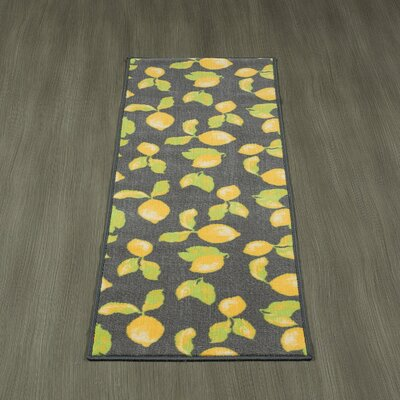 Barbonne Kitchen and Bathroom Mat Color: Gray