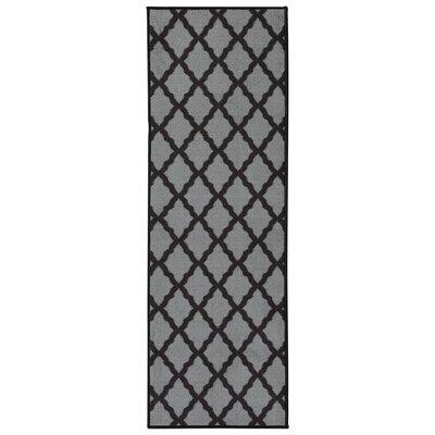 Staunton Dark Gray Area Rug Rug Size: Runner 22 x 6