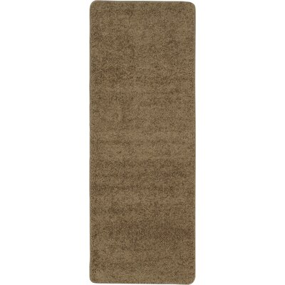 Luxury Camel Area Rug Rug Size: Runner 2 x 6