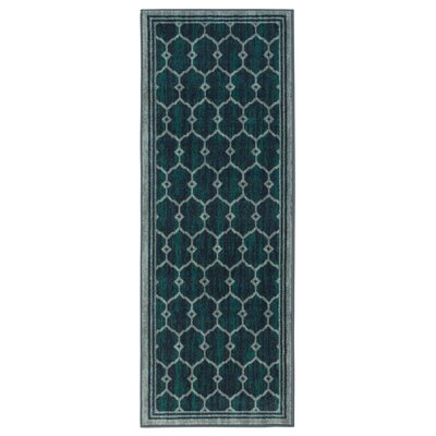 Authentic Green Area Rug Rug Size: Runner 23 x 6