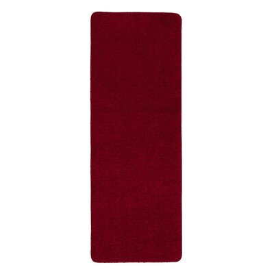 Luxury Red Area Rug Rug Size: Runner 2 x 6