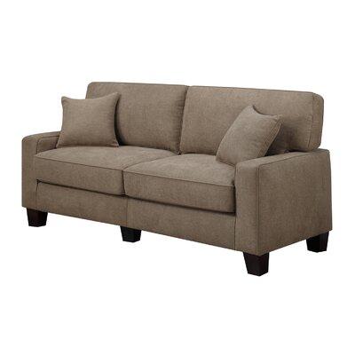 Palisades 73 Sofa Upholstery: Fawn Tan