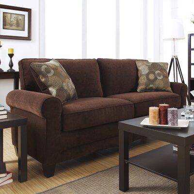 Serta� RTA Copenhagen 73 Sofa Upholstery: Rye Brown