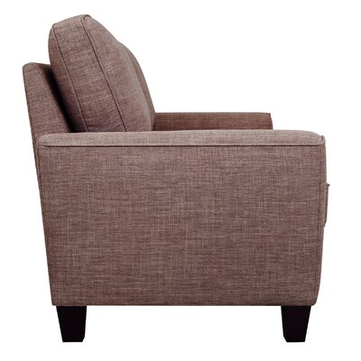 Serta� RTA Astoria 61 Loveseat Upholstery: Church Brick Tan