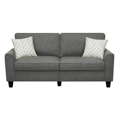 Serta� RTA Astoria 78 Sofa Upholstery: Steel Bridge Gray