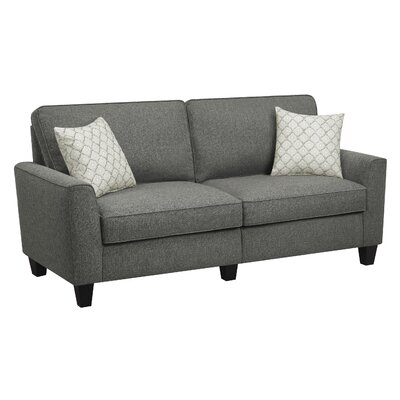 Serta RTA Astoria 78 Sofa Upholstery: Steel Bridge Gray
