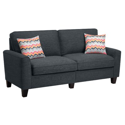 Serta� RTA Astoria 73 Sofa Upholstery: City Skyline Charcoal