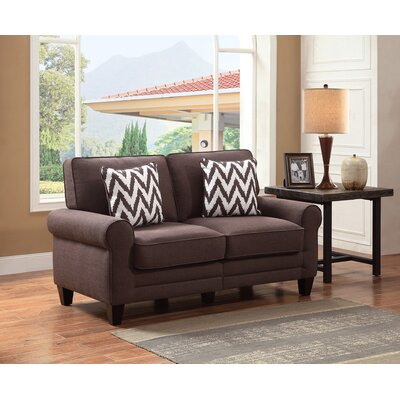 CR46290PB SERT1062 Serta at Home RTA Copenhagen 61″ Loveseat