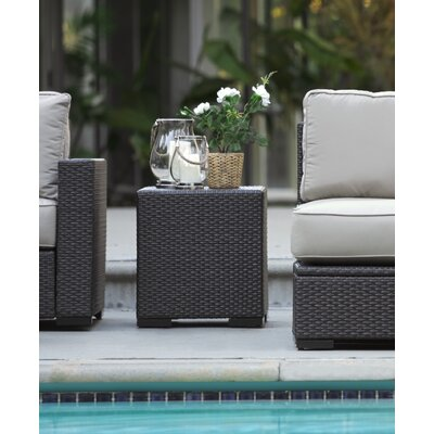 Laguna Outdoor Storage End Table