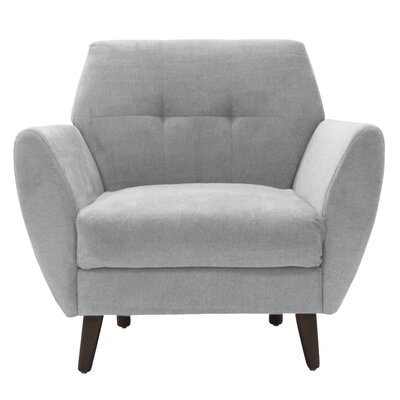 Artesia Armchair Color: Smoke Gray