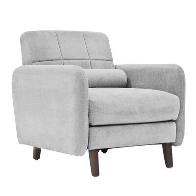 Savanna Armchair Upholstery: Smoke Gray