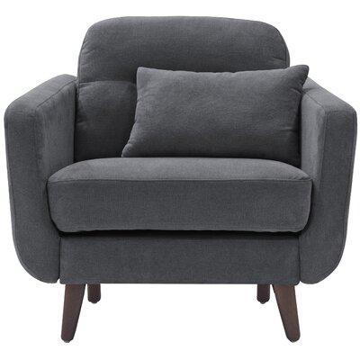 Sierra Armchair Upholstery: Smoke Gray