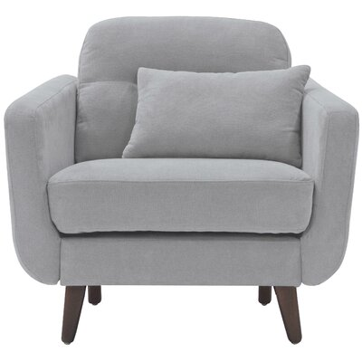 Sierra Arm Chair Color: Smoke Gray
