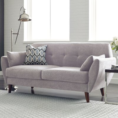 Artesia Loveseat Color: Ivory