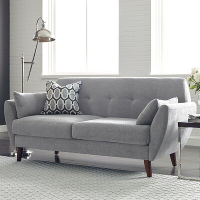 Artesia Loveseat Color: Smoke Gray
