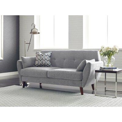 Artesia Loveseat Upholstery: Smoke Gray