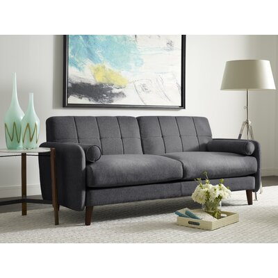 Savanna Loveseat Upholstery: Slate Gray